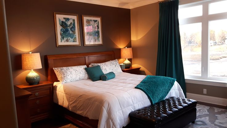 17 best ideas about teal master bedroom on pinterest 13480 | c42d901135112be12643f2baafaac276