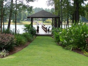 17 best images about landscapes for waterfront parcels on for Canal front home designs