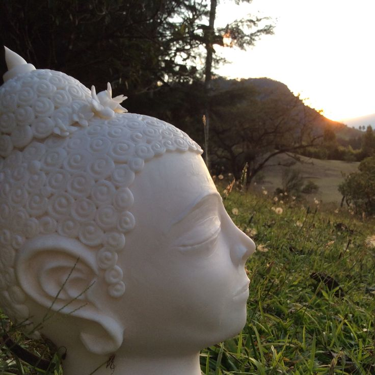 Cabezas Buda mujer