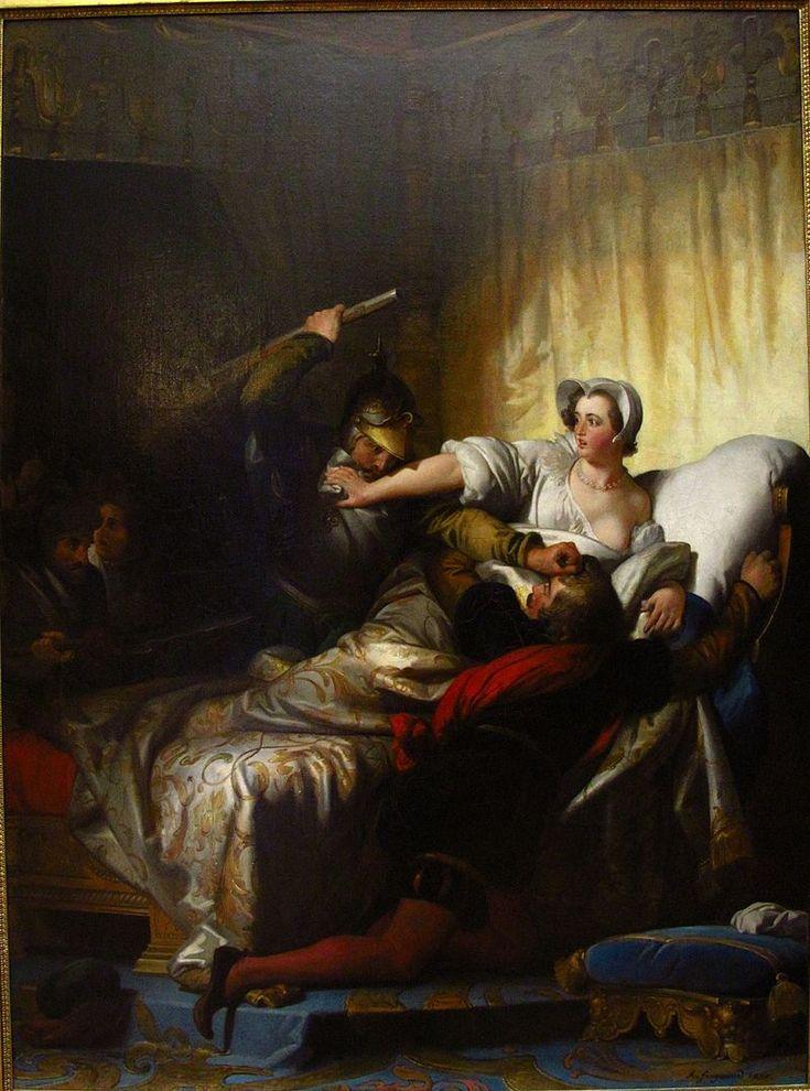 Paris - Scène du massacre de la Saint-Barthélémy (1836) - Alexandre-Évariste Fragonard