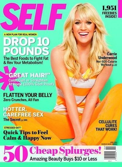 Carrie Underwood's Workout That Burns 600 Calories. DECK OF CARDS