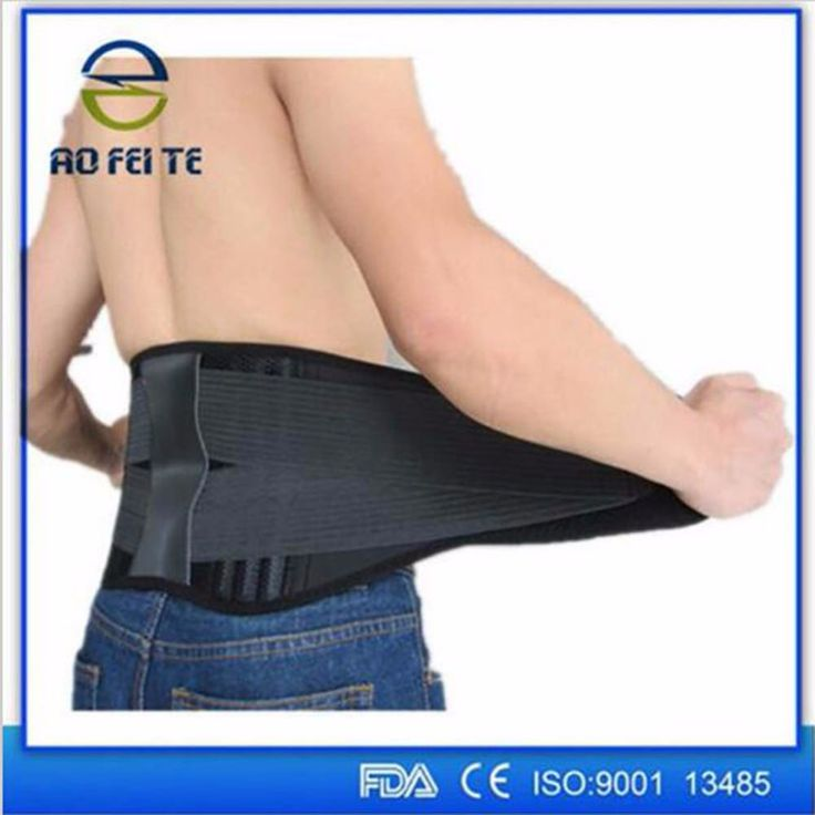 Back Brace Belt Men Orthopedic Corset Back Support Belt Fajas Lumbares Ortopedicas Spine Support Belt Large Size XXXL