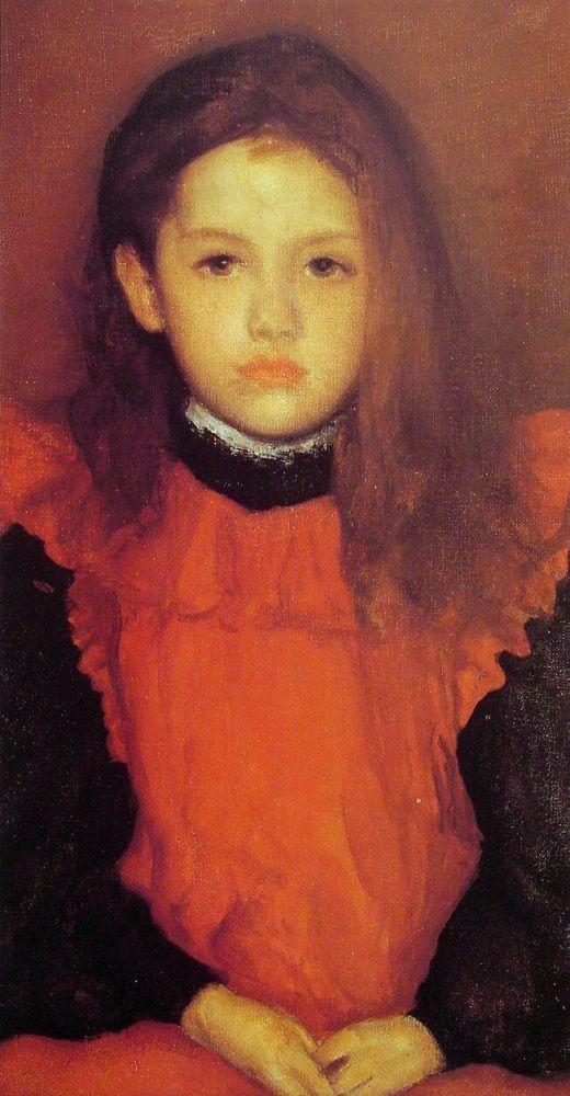 James Abbott McNeill Whistler    The Little Rose of Lyme Regis    1895