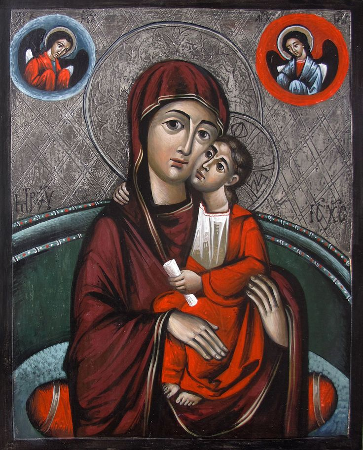 Virgin of Tenderness - Myhailo Skop 2016