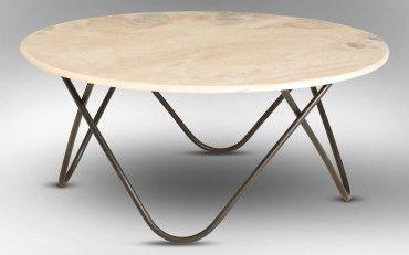 Taj Marble Coffee Table White | Rice Furniture