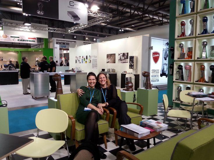 Artemis & Zoi welcoming you at ARTEMIS MIXER booth. http://bit.ly/1M3BqGa