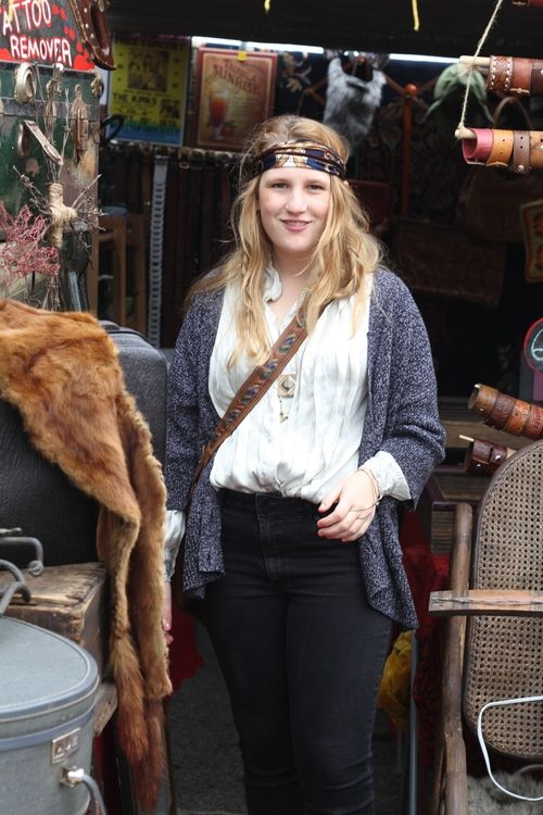 Boho Chic at the San Francisco Treasure Island Flea Market. - whimsy soul