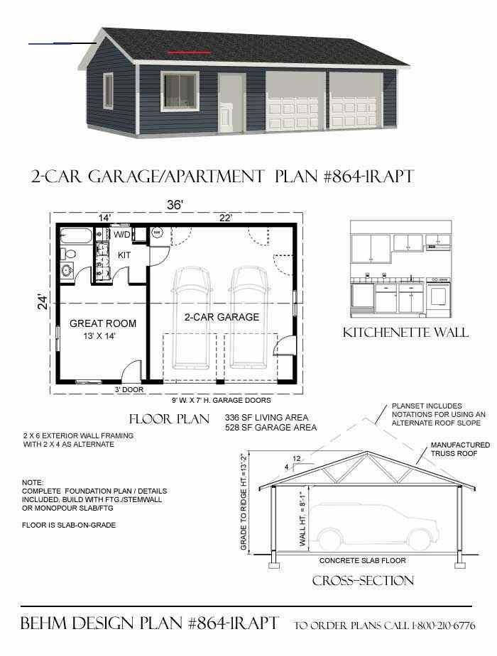 Garageplans Haus Mit Garage Freistehende Garage Grundriss Bungalow
