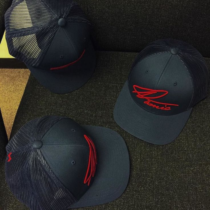 Navy w/ Red Namic Signature Trucker   link in bio  #namic #clothing