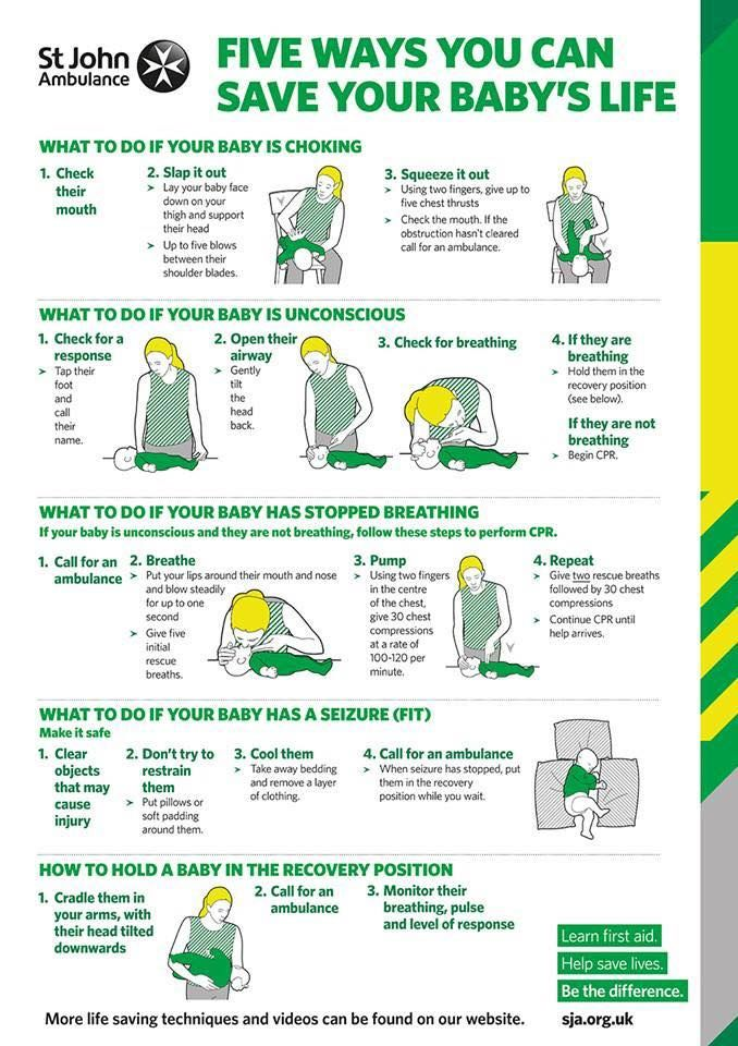 Five ways you can save your baby's life.