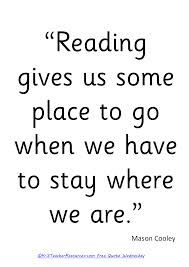Quotes about reading.