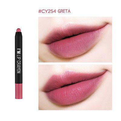 MEMEBOX I'm Matte Lip Crayon Lip Stick,Tint,Pencil #CY254 GRETA-Korean Cosmetics