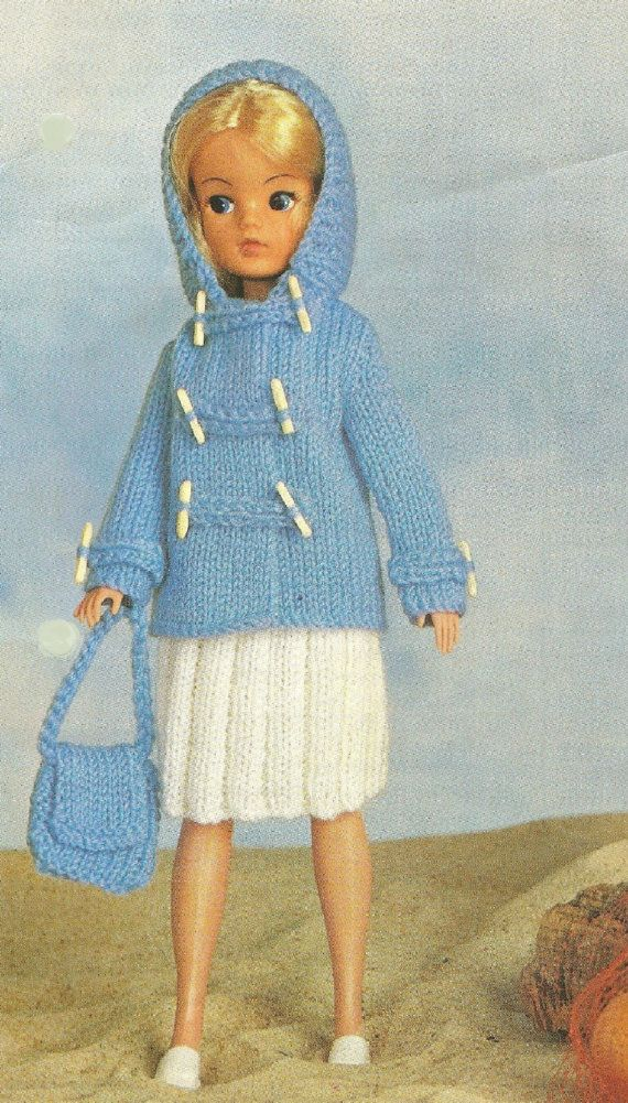 Vintage Knitting Patterns Dolls Clothes : VINTAGE knitting pattern pdf, Sindy doll clothes going out ...