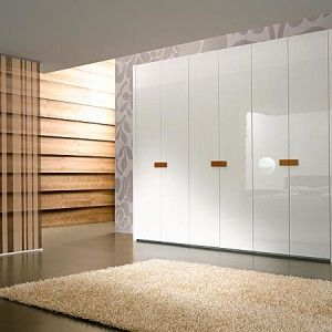Grey Wooden Wardrobe Design And Decor For 2014
