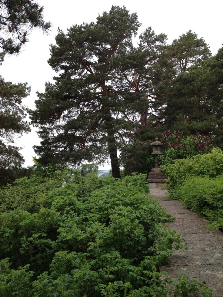 Japanese encounter at Högberga gård, LIdingö, Sweden.