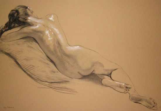 Katya Gridneva Катя Гриднева 1965 | Ukrainian Figurative Pastel painter: