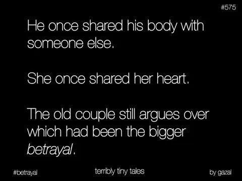 Terrible tiny tale