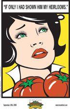 600 varieties of Heirloom Tomatoes