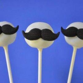 005038 Eetbare Mustache / snorren Suiker decoraties
