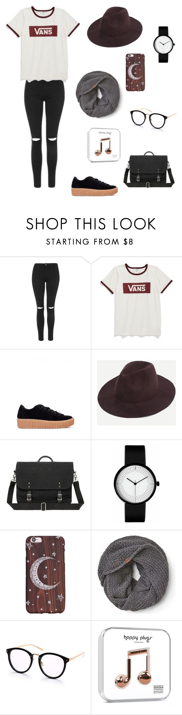 """""""Back to school"""" by magdons on Polyvore featuring Topshop, Vans and Keds"""
