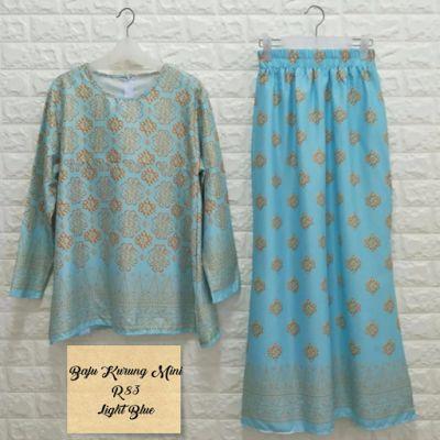 Pelbagai koleksi baju kurung moden dan tradisional.