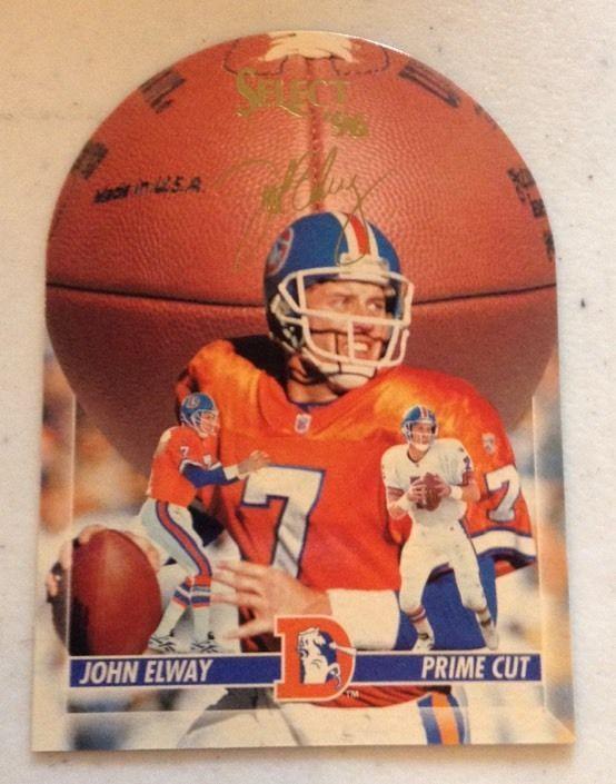 1996 Score Select Prime Cut John Elway /1996, Denver Broncos #DenverBroncos