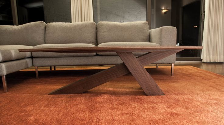 Cantilevered Walnut Coffee Table - Album on Imgur