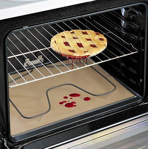 30 Best kitchen gadgets - Non Stick Oven Liner - Click Pic