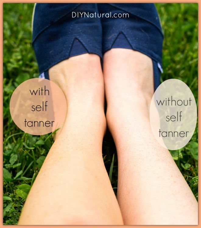 All natural homemade Self Tanner