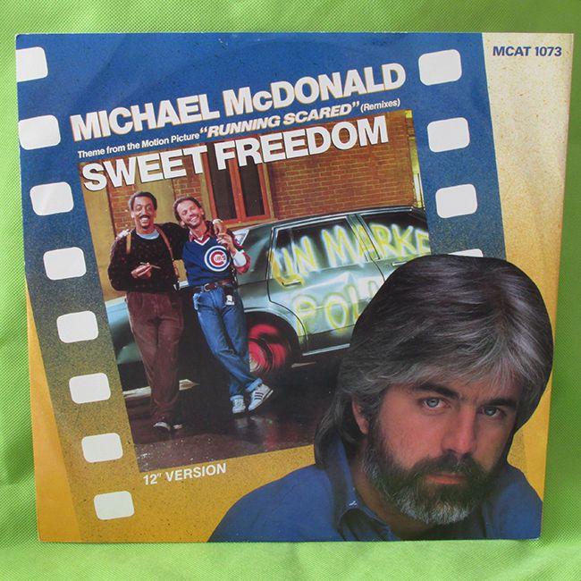 MICHAEL McDONALD Sweet Freedom 1986  UK 12 #vinyl Record VERY GOOD CONDITION k #UNIQBEATS