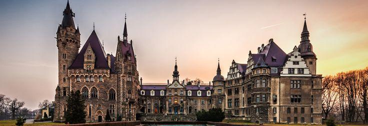 Castle Moszna Poland
