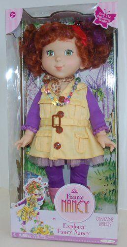 Fancy Nancy Explorer Doll Meet Fancy Nancy