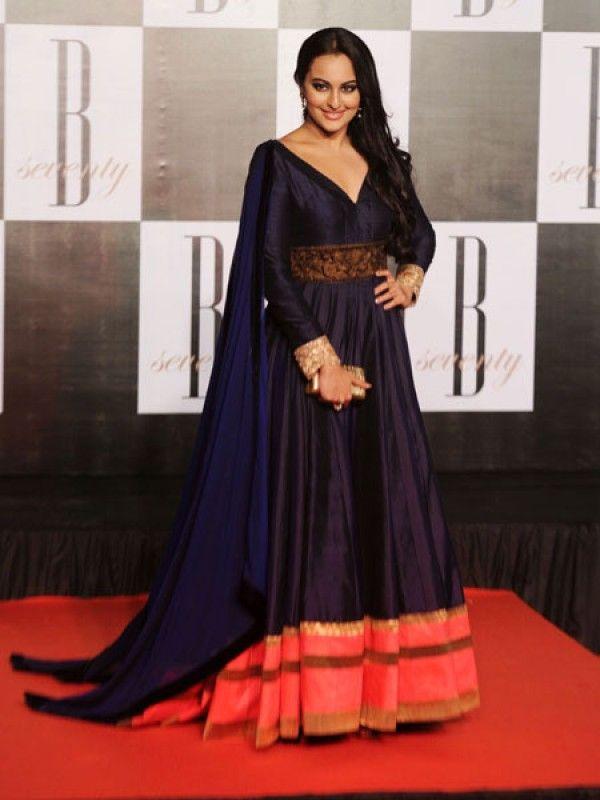 Exclusive Anarkali Dresses Presented By Sonakshi Sinha ...