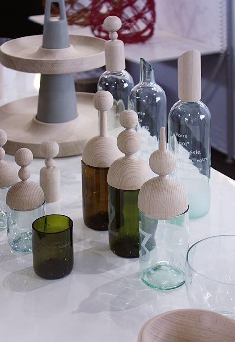 Wohnen mit Dekor - Die Pariser Messe Maison&Objet zeigte in diesem Herbst bunte Accessoires. Holz, Porzellan und das Vermischen unterschiedlicher Stilrichtungen waren die Themen.
