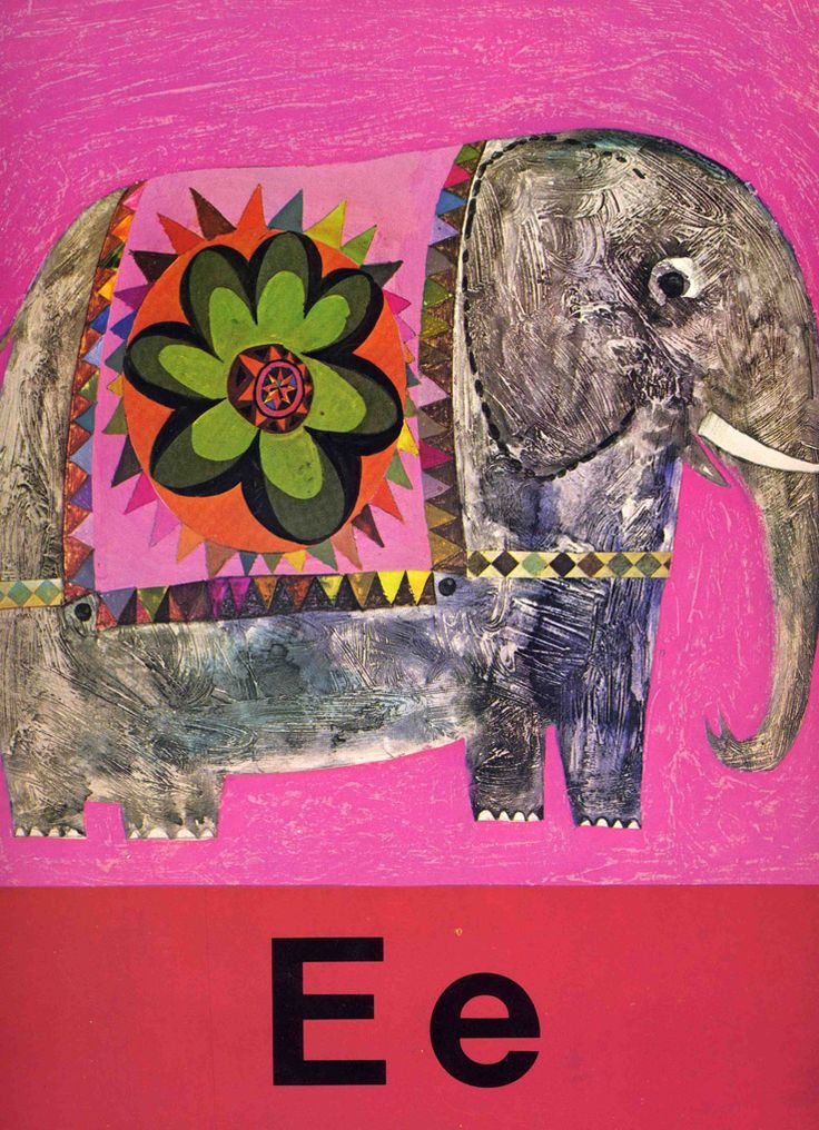 Brian Wildsmith's E is for Elephant. E is for extraordinary.