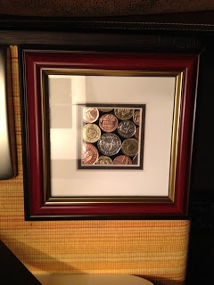 Framed Coin Art – would look really sharp with my Irish Coins!