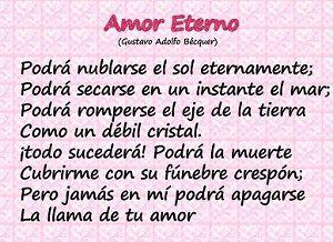 Este es un poema español por un poeta español llamado Gustavo Adolfo Becquer. A.Brimmer