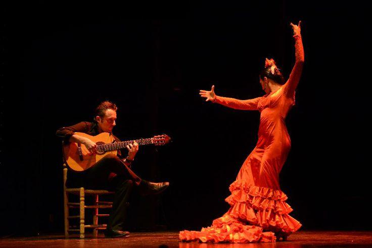 Báilame, Compañía Carmen de las Cuevas. Pilar Fajardo y Jorge el Pisao. Foto: Juan Antonio Cárdenas