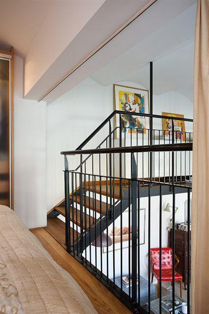 Loft de 67 m de estilo n rdico industrial loft - Decoracion loft pequeno ...