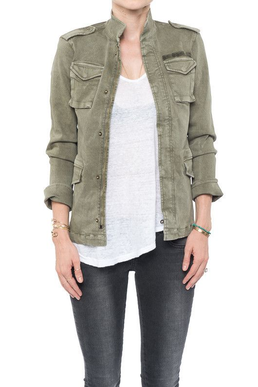 Army Jacket - ANINE BING Army Jacket Made of:97% Cotton and 3% Lycra Front pocke... | ANINE BING