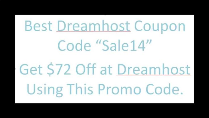 sale14 Dreamhost Coupon And Promo Code From AHCDH.com