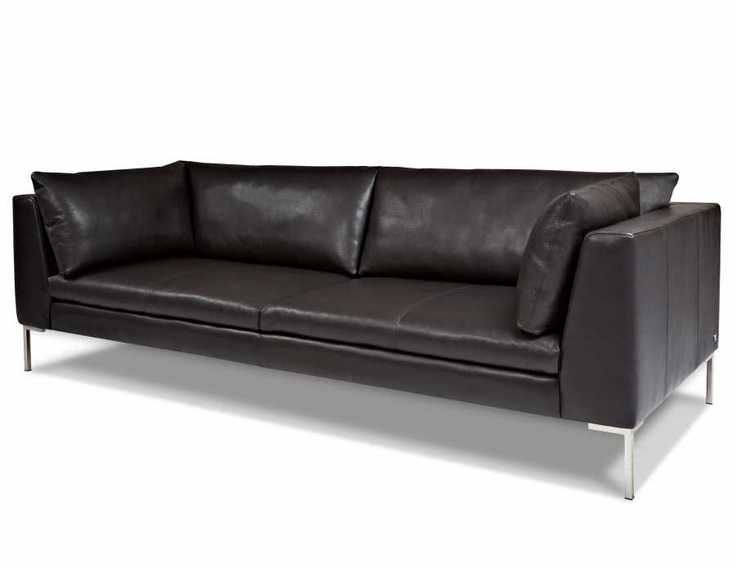 Chaise Lounge Sofa A part of the American Leather Anniversary Collection Genuine all top grain leather Uni directional suspension system High density foam seat cushions