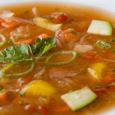 Garden vegetable soup yummy pinterest gardens for Garden vegetable soup