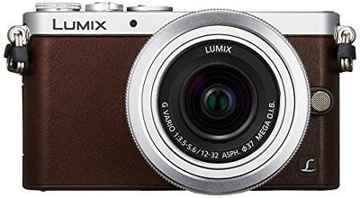 Panasonic mirrorless single-lens GM1S lens kit Brown DMC-GM1SK-T P/O