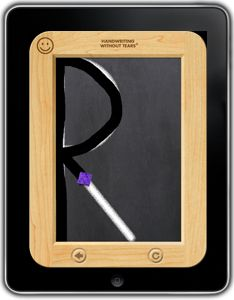 Wet-Dry-Try is an iPad version of the popular Handwriting Without Tears® Slate Chalkboard activity.
