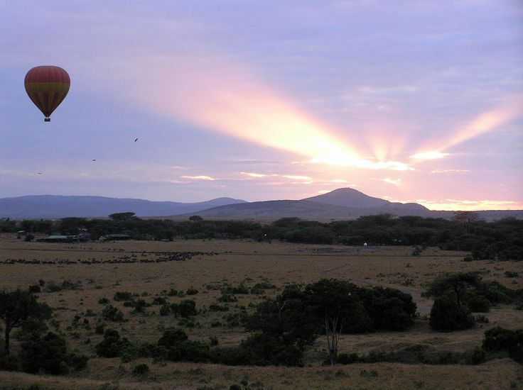 Ballon Safari / Kenya