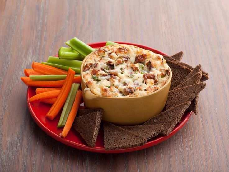 Swiss and Bacon Dip recipe from Rachael Ray via Food Network