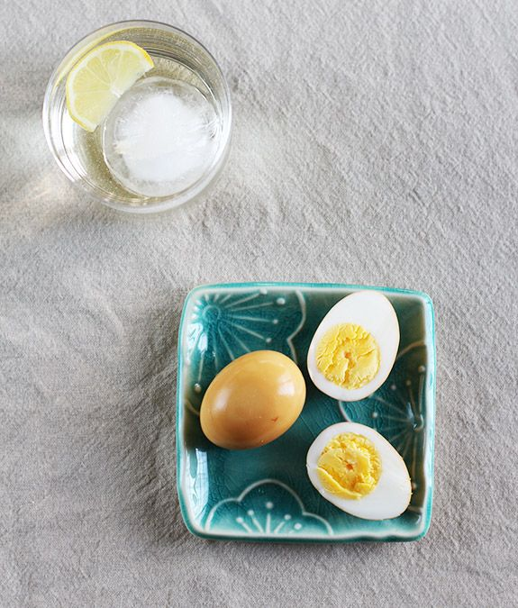 Shoyu Tamago (Soy Sauce Egg) / Eat Your Greens To go with soba noodles ...