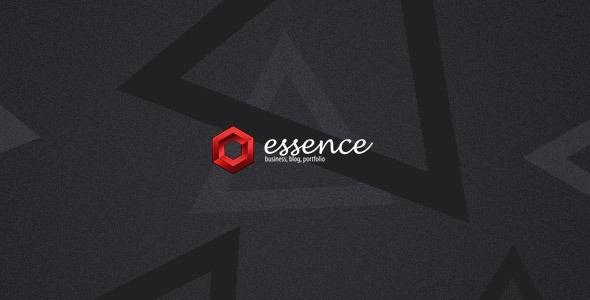 Essence - Blog and Portfolio WordPress Theme