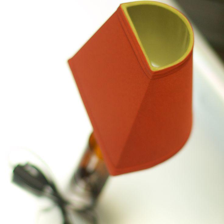 Angle lamp in orange #Lamphilosophy